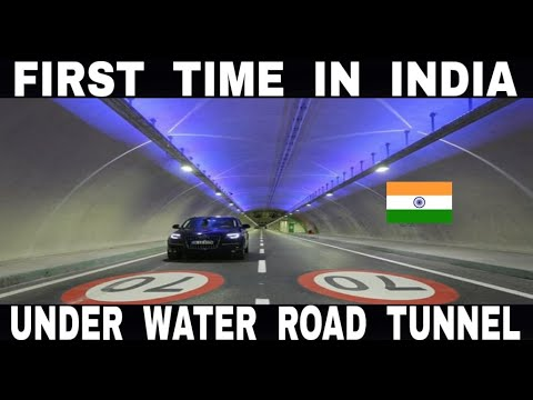 India's First Underwater Road Tunnel || Watch to Know || Hindi || Debdut YouTube