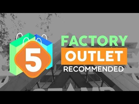 Top 5 Factory Outlet di Bandung