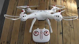 Drone SYMA X8 sc - Présentation & Démo