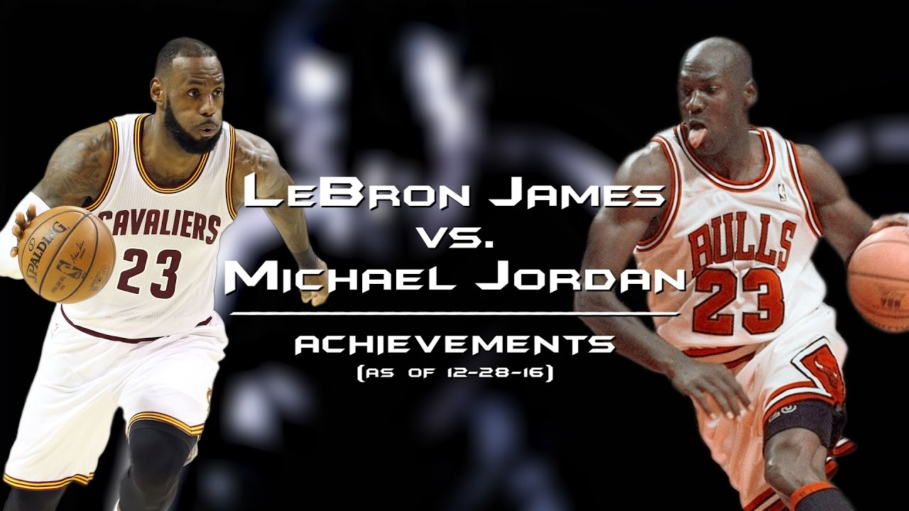 c702fad24594 LeBron James vs. Michael Jordan  Comparison of achievements - YouTube