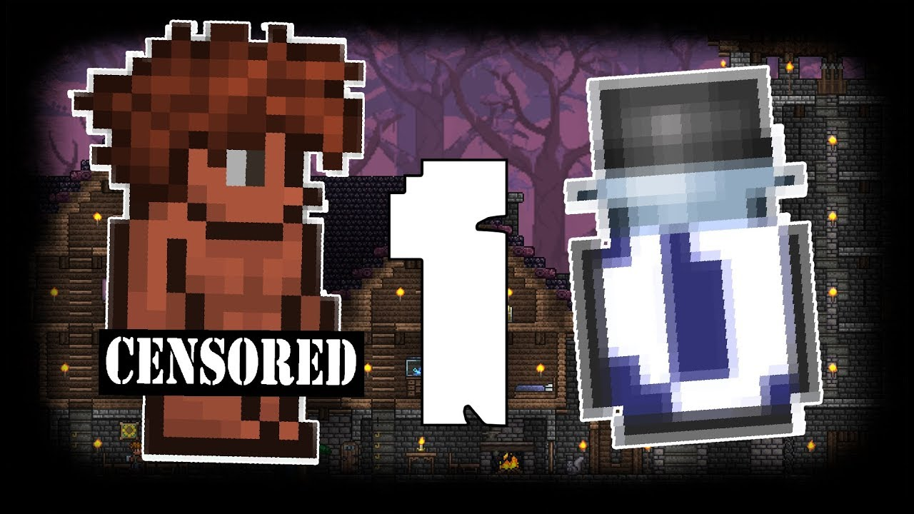 WTF TERRARIA IS HIGH - YouTube