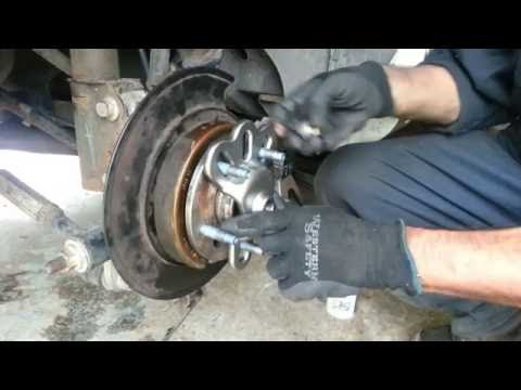 Back wheel bearing replacement – 2000 Buick Regal