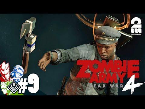 #9【燃える斧!?】弟者,兄者,おついちの「Zombie Army 4: Dead War」【2BRO.】