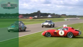 Rare Ferrari 250 GTO/64 crashes at Revival