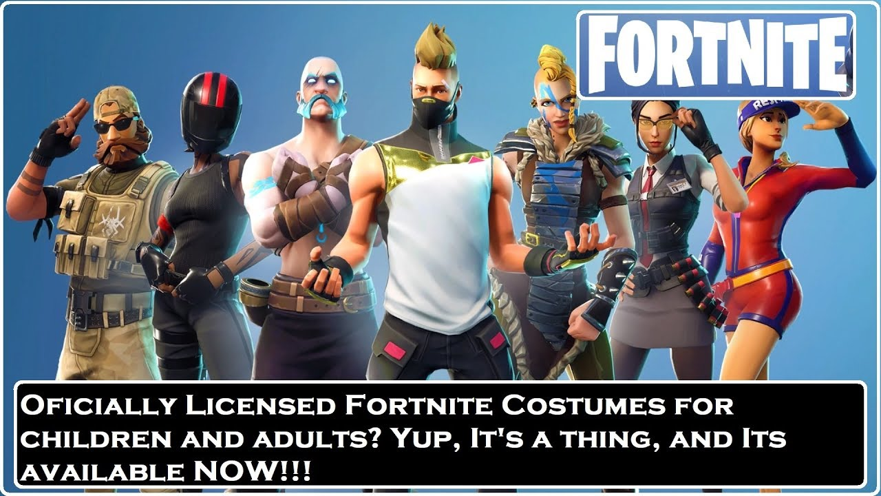 fortnite halloween costumes available now irl
