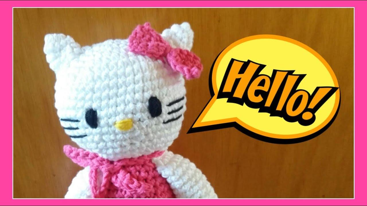 Hello Kitty Gehäkelt Und Gestrickt Julebuergerfee