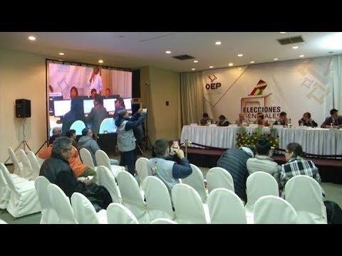 Interrumpen El Escrutinio En Bolivia Y Temen Un Fraude