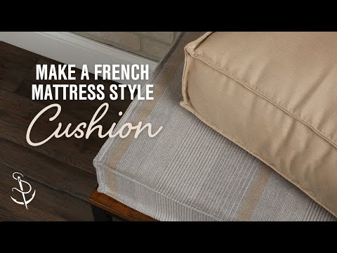 how-to-make-a-french-mattress-style-cushion