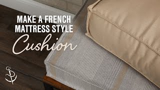 How to Make a French Mattress Style Cushion thumbnail