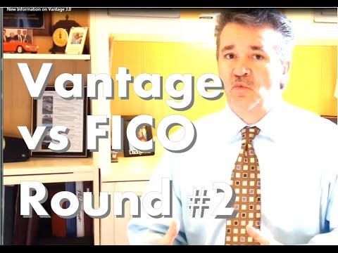 New Information on Vantage 3.0 vs FICO 9 Credit Score