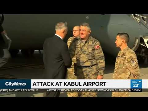 Afghan airport attacked hours after U.S. Defense Secretary lands
