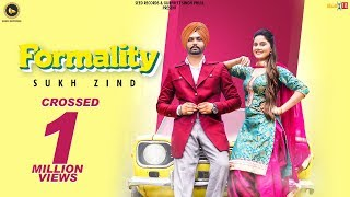 Formality Sukh Zind Free MP3 Song Download 320 Kbps