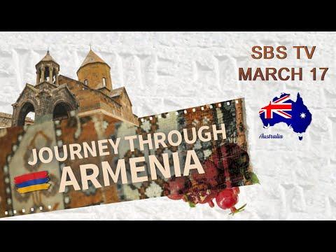 """Journey Through Armenia"" on Australian SBS TV"