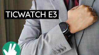 Ticwatch E3: Simple stylish stamina