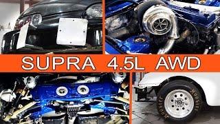 "Проект ""Разгром"": Supra 1FZ-FE Turbo (2500 сил) + полный привод"
