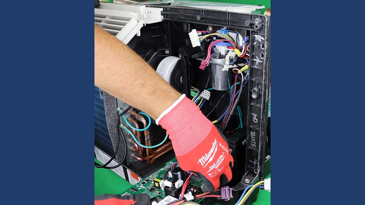 GE Zoneline PTAC - How to Replace The Main Board. - YouTube   Ge Zoneline Wiring Diagram      YouTube
