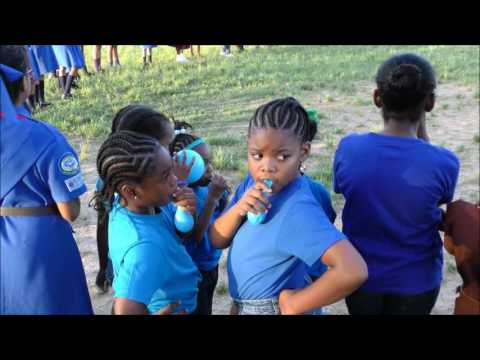 Girl Guides World Diabetes Day at Skinner Park, San Fernando - November 14, 2016