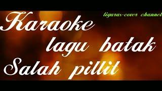 karaoke-Salah pillit-De'fama trio-lagu batak-D=do