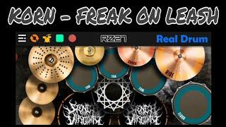 Korn - Freak On a Leash | Real Drum