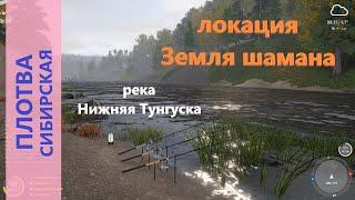 Русская рыбалка 4 река Нижняя Тунгуска Плотва на дальнем кордоне