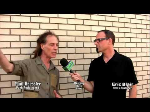 The Manic Low's Paul Roessler talks with Eric Blair 2012