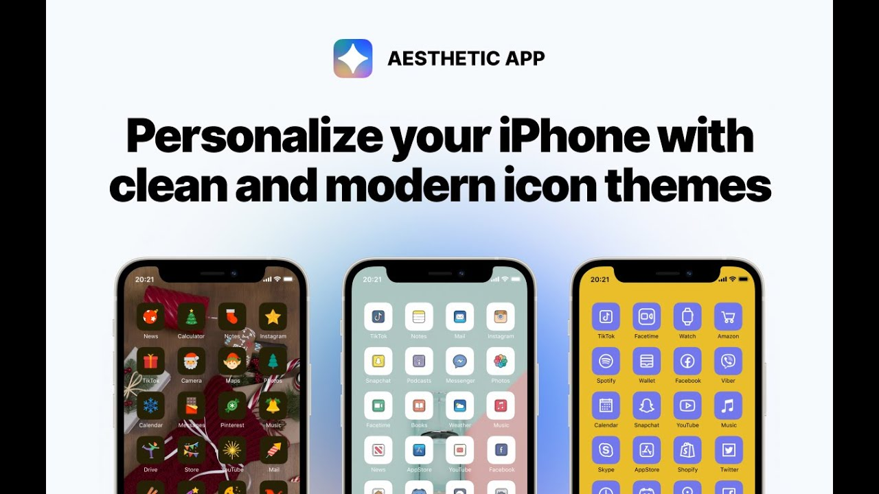 Aesthetic Icons App By Icons8 Personalize Your Iphone With Clean And Modern Icon Themes For Free Youtube