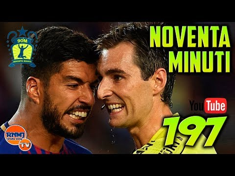 90 MINUTI 197 SUPERCOPA de ESPAÑA 2017 (14/08/2017) Barcelona 1-3 Real Madrid