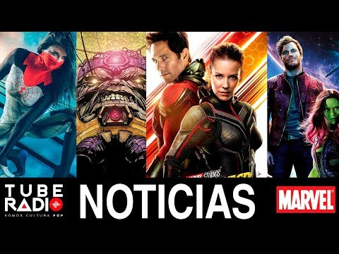Tube Radio: Silk, Avengers 4, Ant-Man and The Wasp, Black Widow, GOTG 3, Captain Marvel