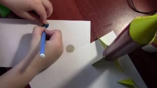 поделка ракета из бумаги к 12 апреля