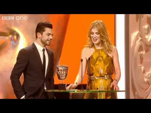 Rosamund Pike Embarrasses Dominic Cooper - The British Academy Film Awards 2011 - BBC One