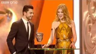 Rosamund Pike Embarrasses Dominic Cooper - The British Academy Film Awards 2011 - BBC One