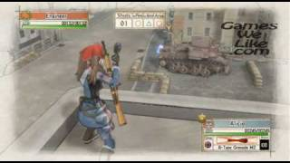 Valkyria Chronicles Gameplay Sample