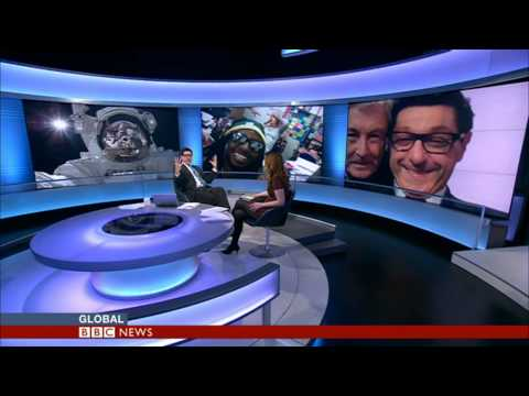#SELFIE- Samantha Barry and Jon Sopel on BBC World News