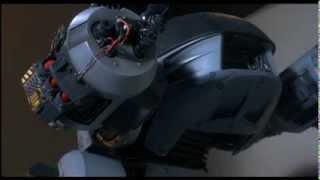Robocop ED209 sound FX (power-up, walking, malfunctioning , firing and power-down)