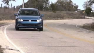 MotorWeek   Quick Spin: 2015 Volkswagen Golf SportWagen