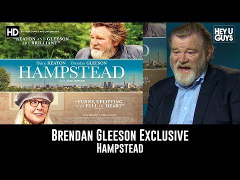 Brendan Gleeson Exclusive Interview - Hampstead