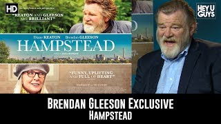 Brendan Gleeson Exclusive Interview - Hampstead
