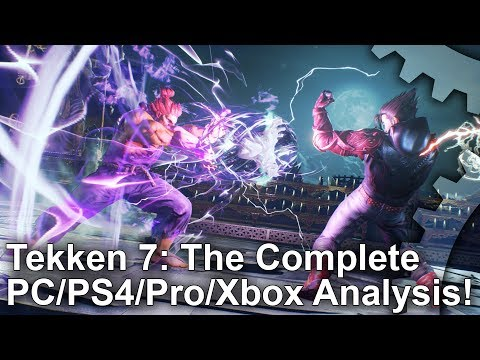 Tekken 7: PS4/Pro/Xbox One/PC - Graphics Comparison, Analysis + Frame-Rate Test