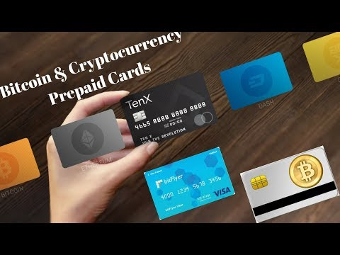 Bitcoin & Cryptocurrency Prepaid Cards - Bitflyer (Visa) & TenX (PAY)