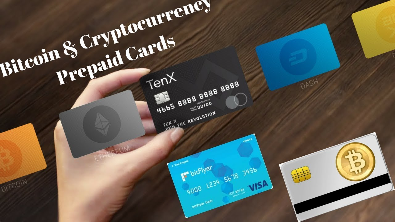 Bitcoin & Cryptocurrency Prepaid Cards - Bitflyer (Visa) & TenX ...