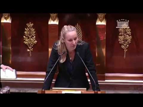 Marion Maréchal Le Pen FN 030713  Assemblée Nationale Interdiction du cumul de fonctions éxécuti