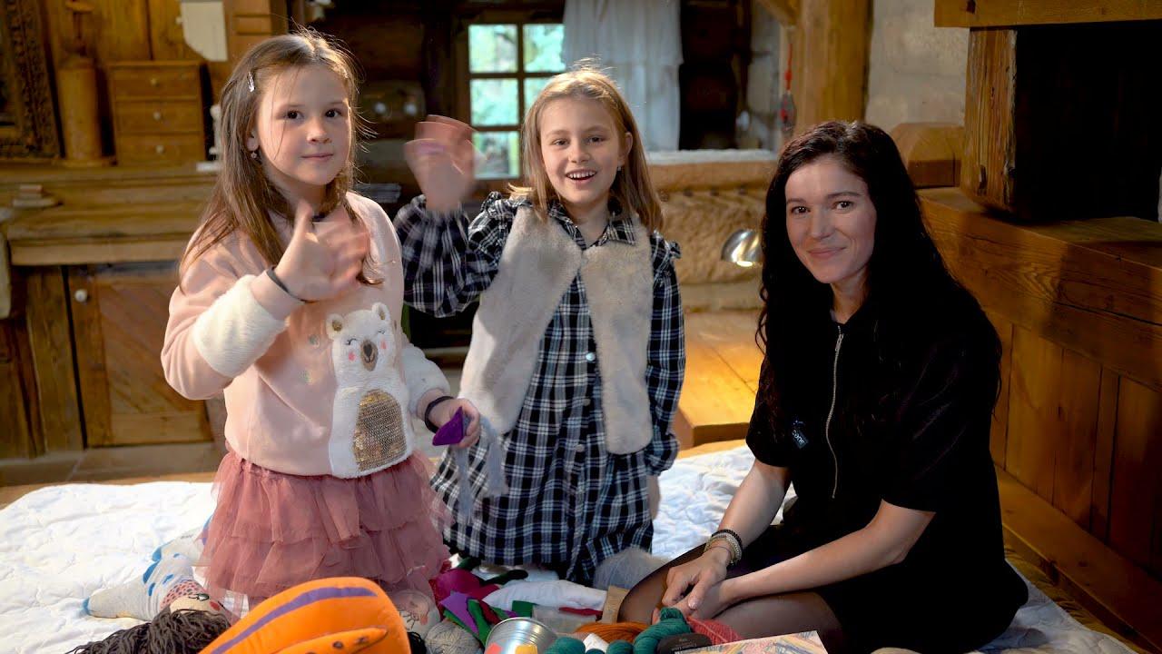 Lucie Kanurkovová a vyrábění panenek podle obrázků