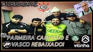 Parmeira Campeão da Copa do Brasil - Vasco Rebaixado