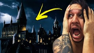ENTRAMOS NO CASTELO DO HARRY POTTER!!!!!!!!