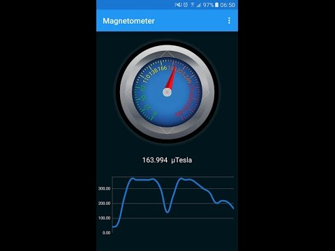 Create a Magnetometer Metal Detector App for Android