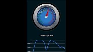 Erstellen Sie eine Magnetometer-Metall-Detektor App für Android