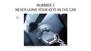 DON'T LET YOUR CAR GET STOLEN! thumbnail