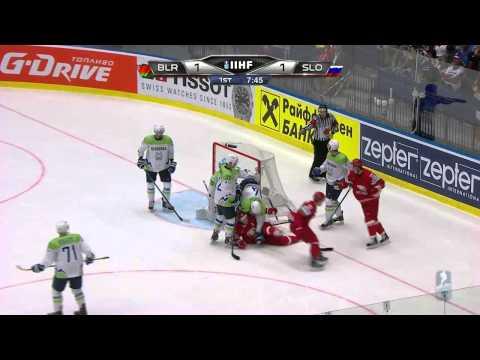 Беларусь - Словения 4-2 Обзор