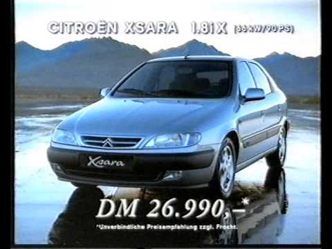 citroen xsara ad 1998 youtube. Black Bedroom Furniture Sets. Home Design Ideas