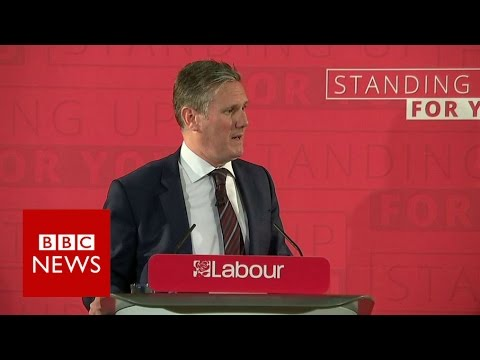 Thumbnail: Labour 'day one' pledge to EU nationals - BBC News